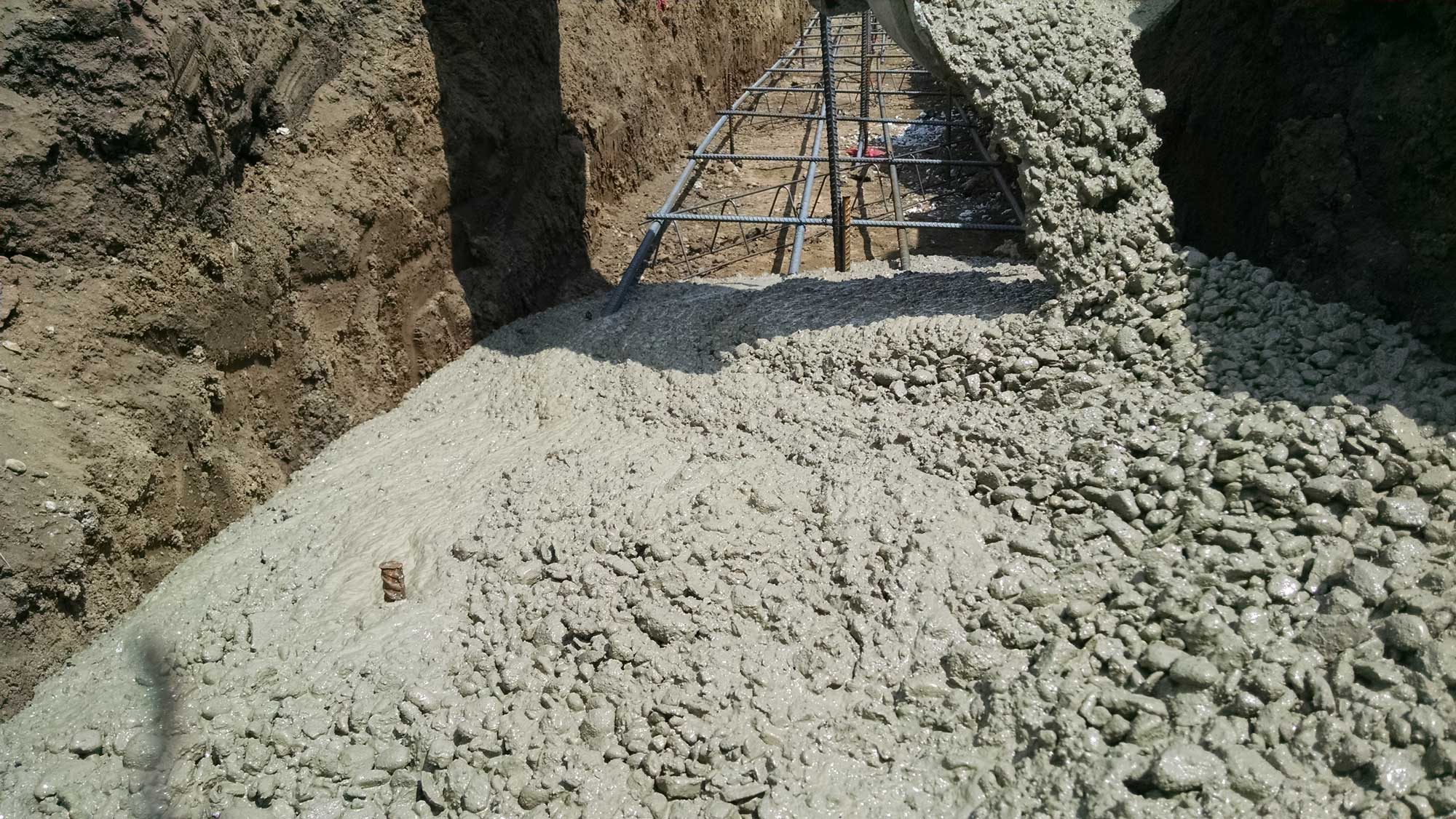 Concrete Construction Foundations Containment Pits