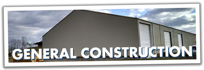 Construction of Steel Buildings, Warehouses, Industrial Structures
